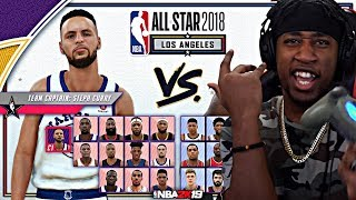 BUILDING THE MOST OP TEAM EVER CREATED IN 2K HISTORY! ALL-STAR TEAM PICKS! - NBA 2K19 MyCAREER