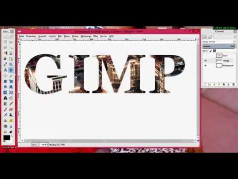 Gimp Font Einfügen