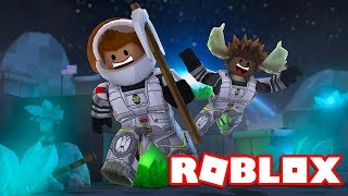 WE MUST MINE, MOOSE! -Roblox Moon Miners 2 english