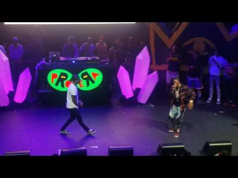 1 Train - A$AP Rocky X Joey Bad$$ Steez Day L.A