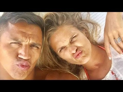 Alexis Sánchez y la actriz que le robó el corazón