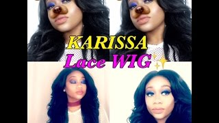 Wig Review FREETRESS EQUAL {Style} KARISSA  lace deep invisible L part