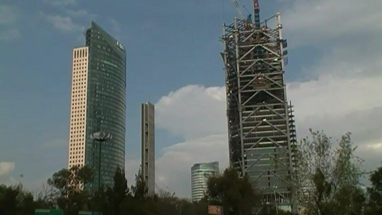 Edificios en construcci n en la ciudad de m xico youtube for Videos de construccion de edificios