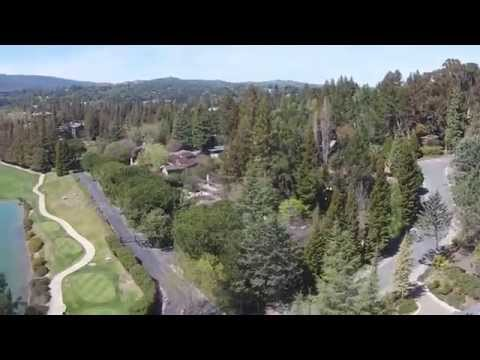 Sharon Heights Golf Course Quadcopter Video