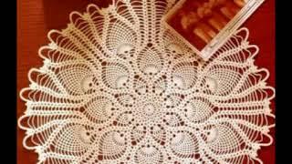 Салфетки Вязание крючком схемы