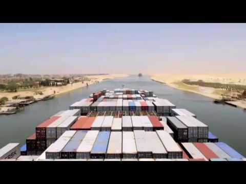 Suez Canal by numbers