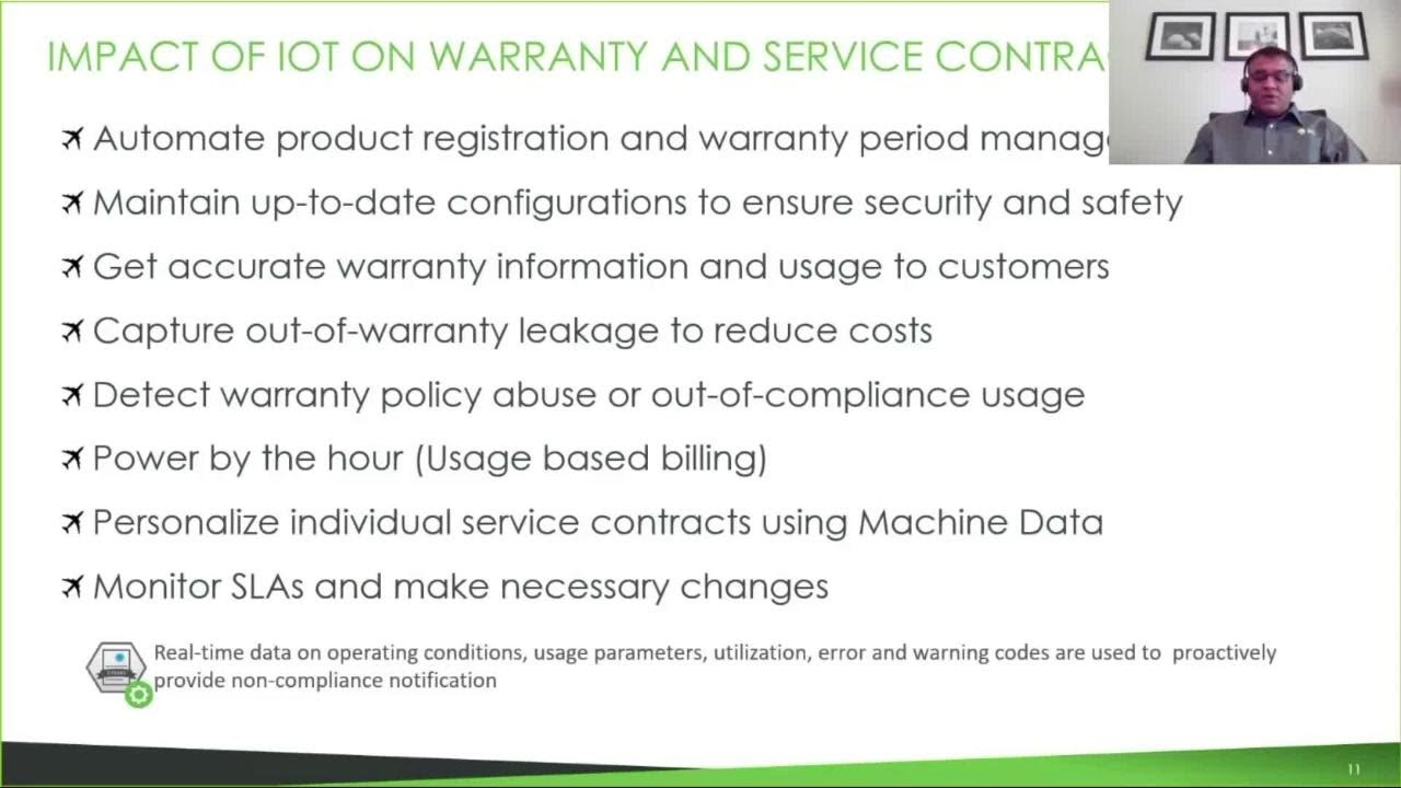 The Impact Of Iot On Warranty And Service Contracts Youtube