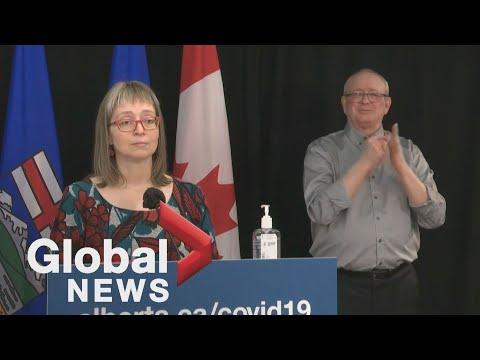 Coronavirus: Alberta sees first suspected cases of in-school transmission of COVID-19 variant | FULL