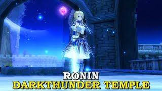 RONIN DARKTHUNDER TEMPLE SOLO | Aura Kingdom