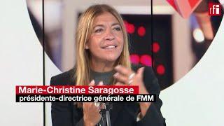 RFI en mandingue fête ses 5 ans : Marie-Christine Saragosse fait le point