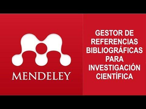 Video 03: Descargar E Instalar MENDELEY 2019 Para Investigación Científica.