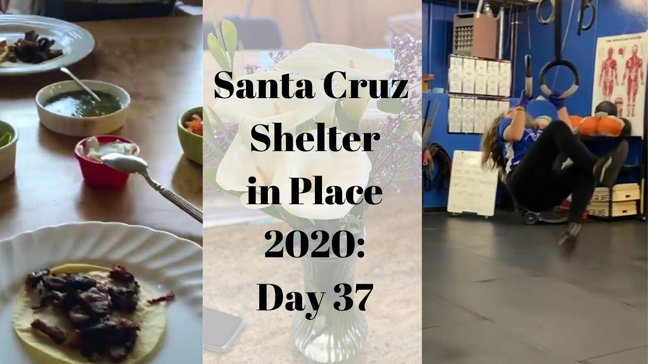 Santa Cruz Shelter in Place 2020: Day 37