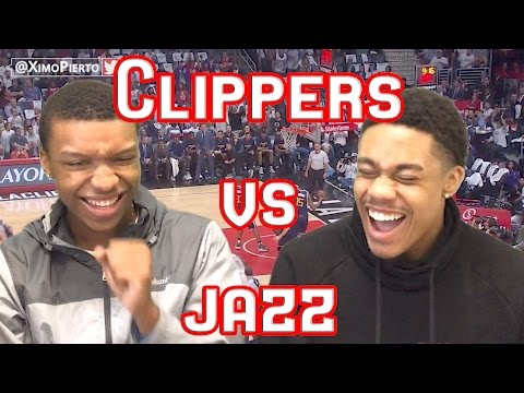 DEANDRE JORDAN GO UP AND GET IT!!! CLIPPERS VS JAZZ GAME 2 2017 FULL HIGHLIGHTS AND REACTION!