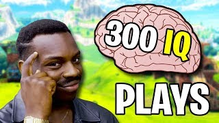QUAND PLAYERS HAVE 300 IQ (Fortnite Genius Plays)