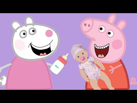 How to draw Peppa Pig. Funny Pig. Peppa pig coloring. Dont want to sleep.