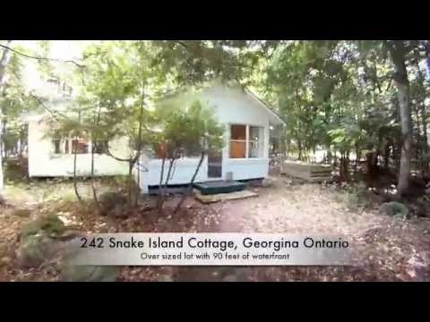 Snake Island Cottage For Sale Georgina Ontario 1 Hour