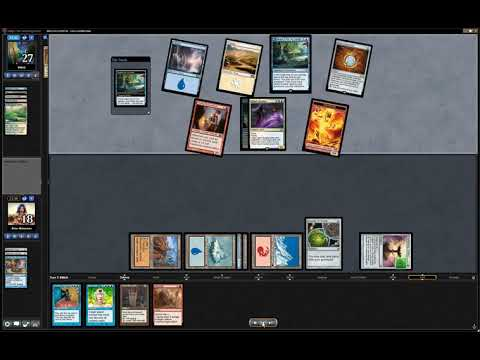 EDH MTG Commander 1 vs 1 Nin vs Numot **AWESOME GAME!**