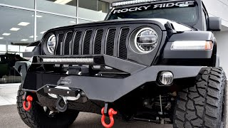 2019 Jeep Wrangler JL Unlimited Rubicon - Rocky Ridge K2 - Quick Walkthrough | 28663T