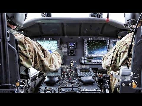 Black Hawk Helicopter Cockpit Video • UH-60M