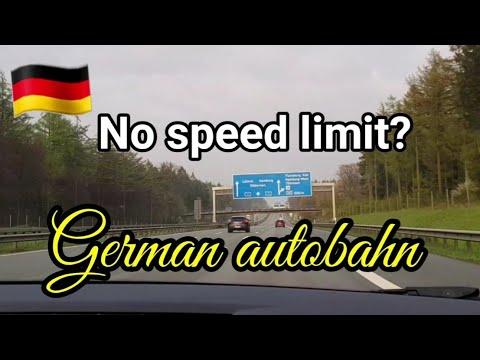 German Autobahn | German highways | Speed limit reality