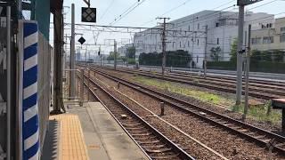 ◆何も積んでない貨物列車!!! JR FREIGHT EF210桃太郎  東海道本線 JR吹田駅◆