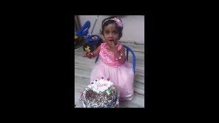 |Cute Baby Funny cake cutting |Birthday Celebration Funny Cake Cutting|