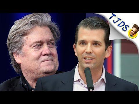 Bannon Accuses Trump Jr. Of Treason