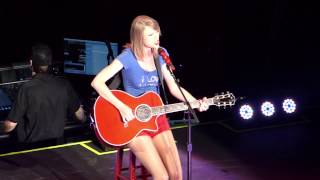 RED TOUR TAYLOR SWIFT LIVE IN SINGAPORE [You Belong With Me]