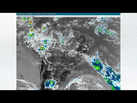 Previsão De Muita Chuva Para O Espírito Santo E Minas Gerais