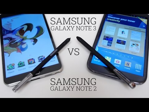 Samsung Galaxy Note 3 vs Galaxy Note 2