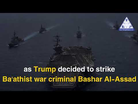 Trump decides to strike Assad..Moscow, Tehran fully panicked