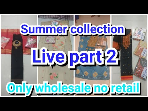 Wholesale Price Ladies Suits | Chandni Chowk | Textile malls | live part 2