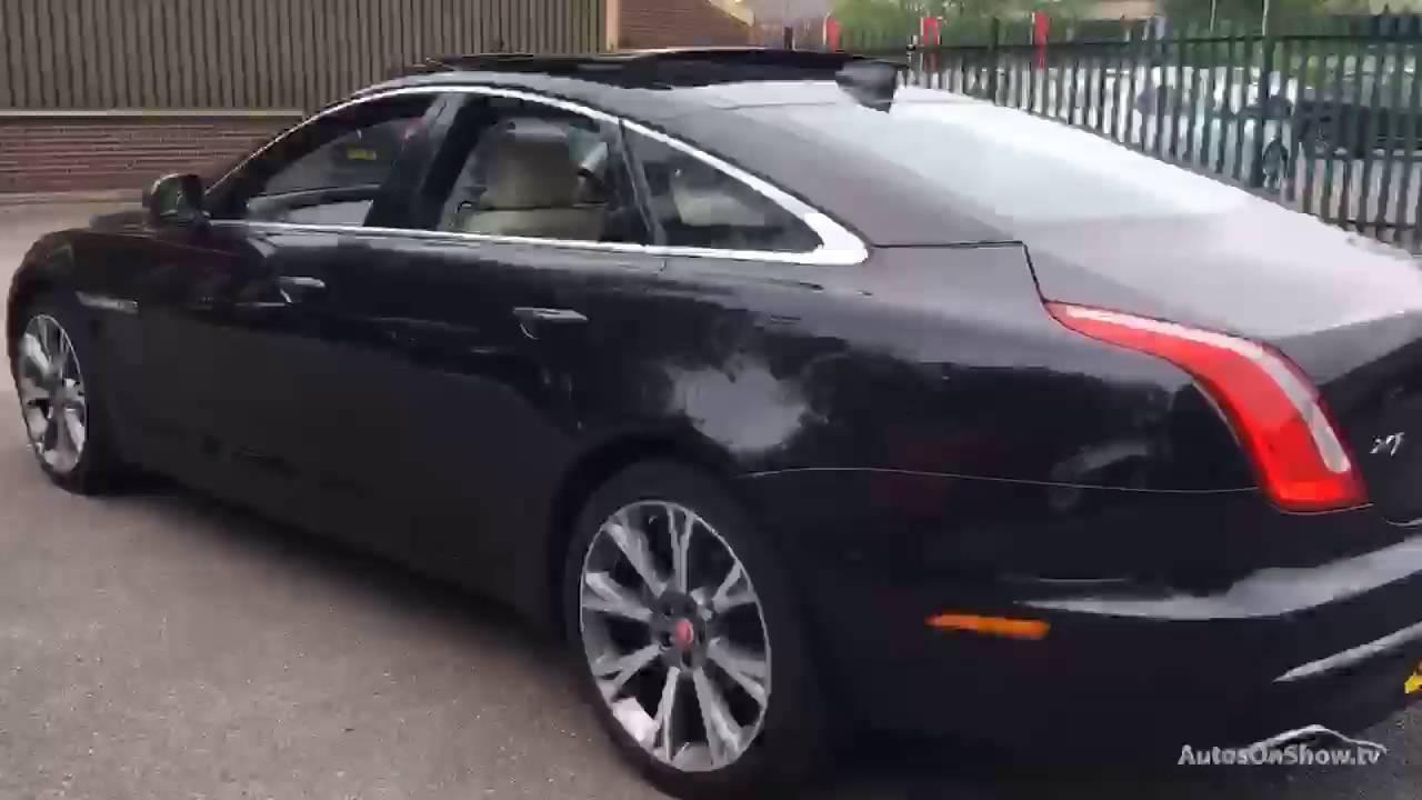 JAGUAR XJ D V6 PORTFOLIO BLACK 2016   YouTube