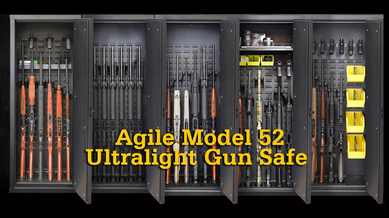 Agile Model 52 - Ultralight Gun Safe - YouTube