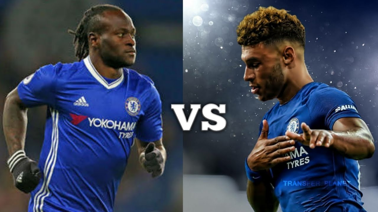 VICTOR MOSES VS ALEX OXLADE CHAMBERLAIN HD
