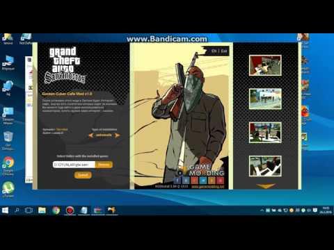 GTA San Andreas İnternet Cafe Mod Nasıl Yüklenir ?