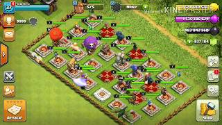 Who Can Survive??? All TROOP KING 🆚 One ☝ Maxed Out Mega Tesla..... COC PRIVATE.