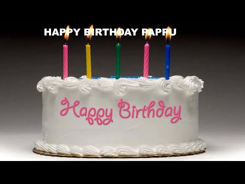 Pappu - Cakes Pasteles_1949 - Happy Birthday