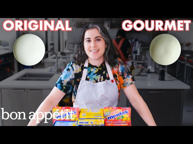 Pastry Chef Attempts to Make Gourmet Mentos | Gourmet Makes | Bon Appétit