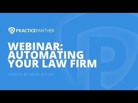 (Webinar) Automating Your Law Firm with Ernest Svenson