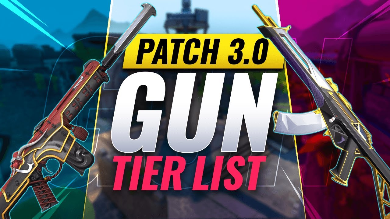 Download BEST VALORANT GUNS! - Patch 3.0 Gun TIER LIST