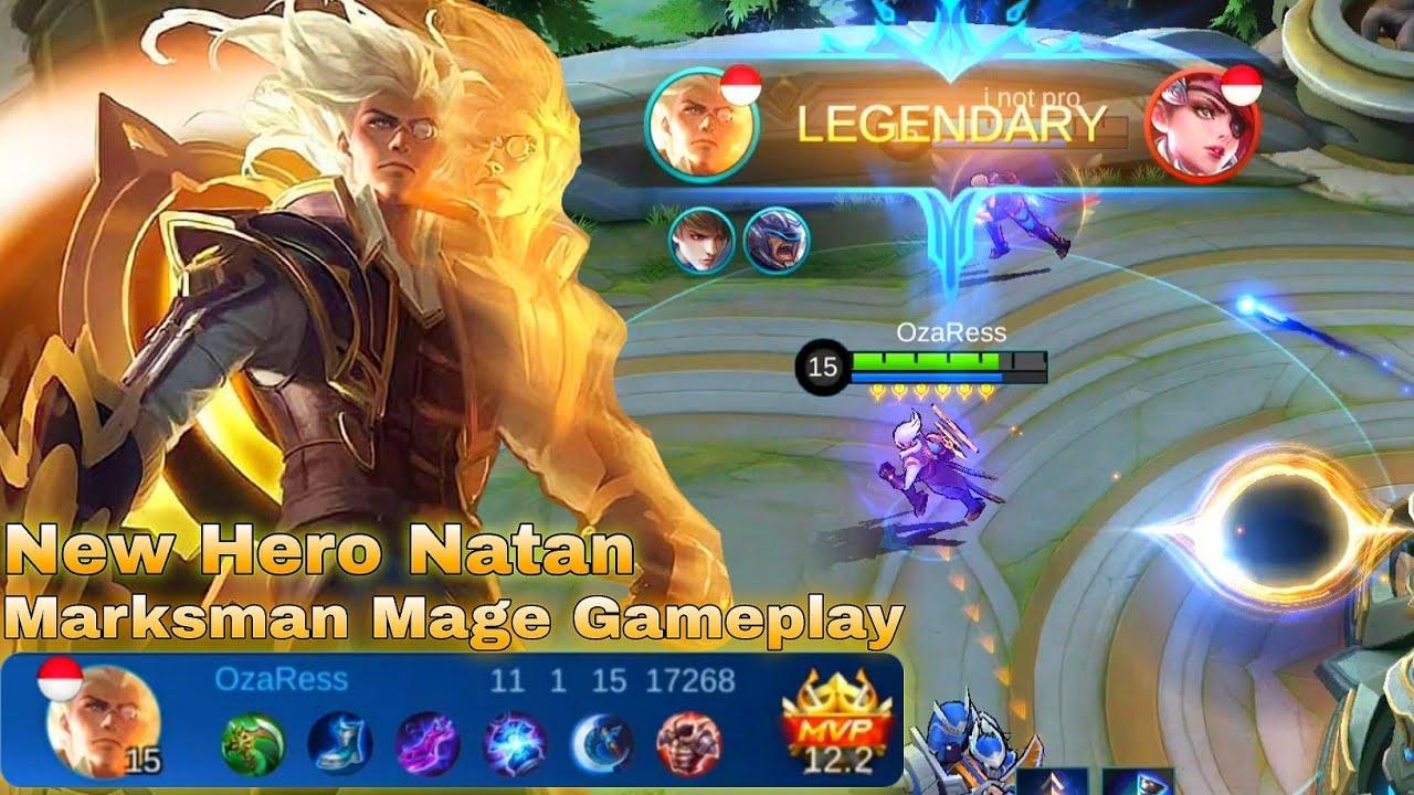 New Hero Natan Gameplay - Mobile Legends Bang Bang