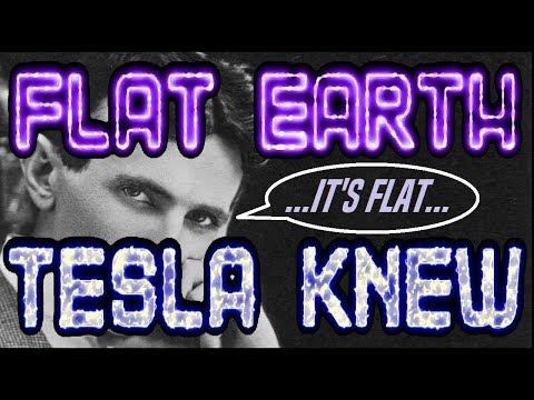 FLAT EARTH | TESLA KNEW... thumbnail