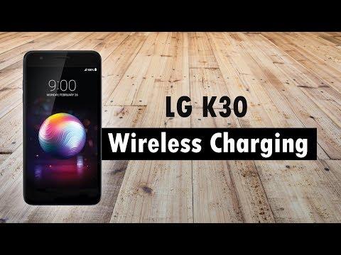 LG K30 Wireless Charging - YouTube