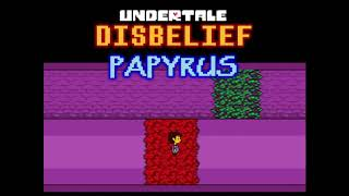 Disbelief Papyrus - Bad Ending