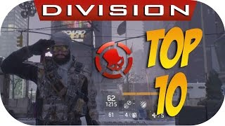 The Division | Top 10 Biggest F*ck Ups & Bugs In Year 1 Division (2016 In Review!)