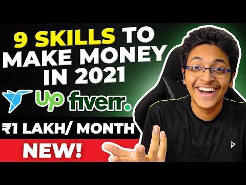 9 Skills to Make Money Online in 2021 | Highest Paid Freelancing Skills on Fiverr & Upwork