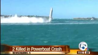 2 racers die after powerboat crash in Key West