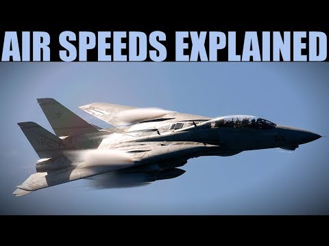 Explained: Aircraft Air Speeds