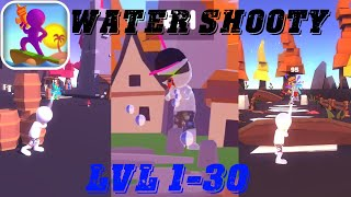 Water Shooty Gameplay + Boss Levels 1-30 by Rollic 🔫🔫🔫